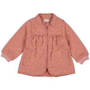 wheat thermo jacket thilde 2112 rose cheeks petit vert