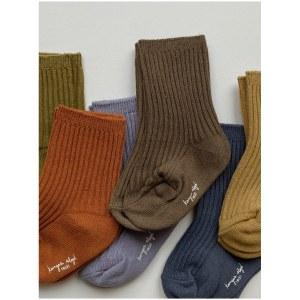 konges-sloejd-sokker-6-pak-rib-socks-butterscotch_petit-vert-1